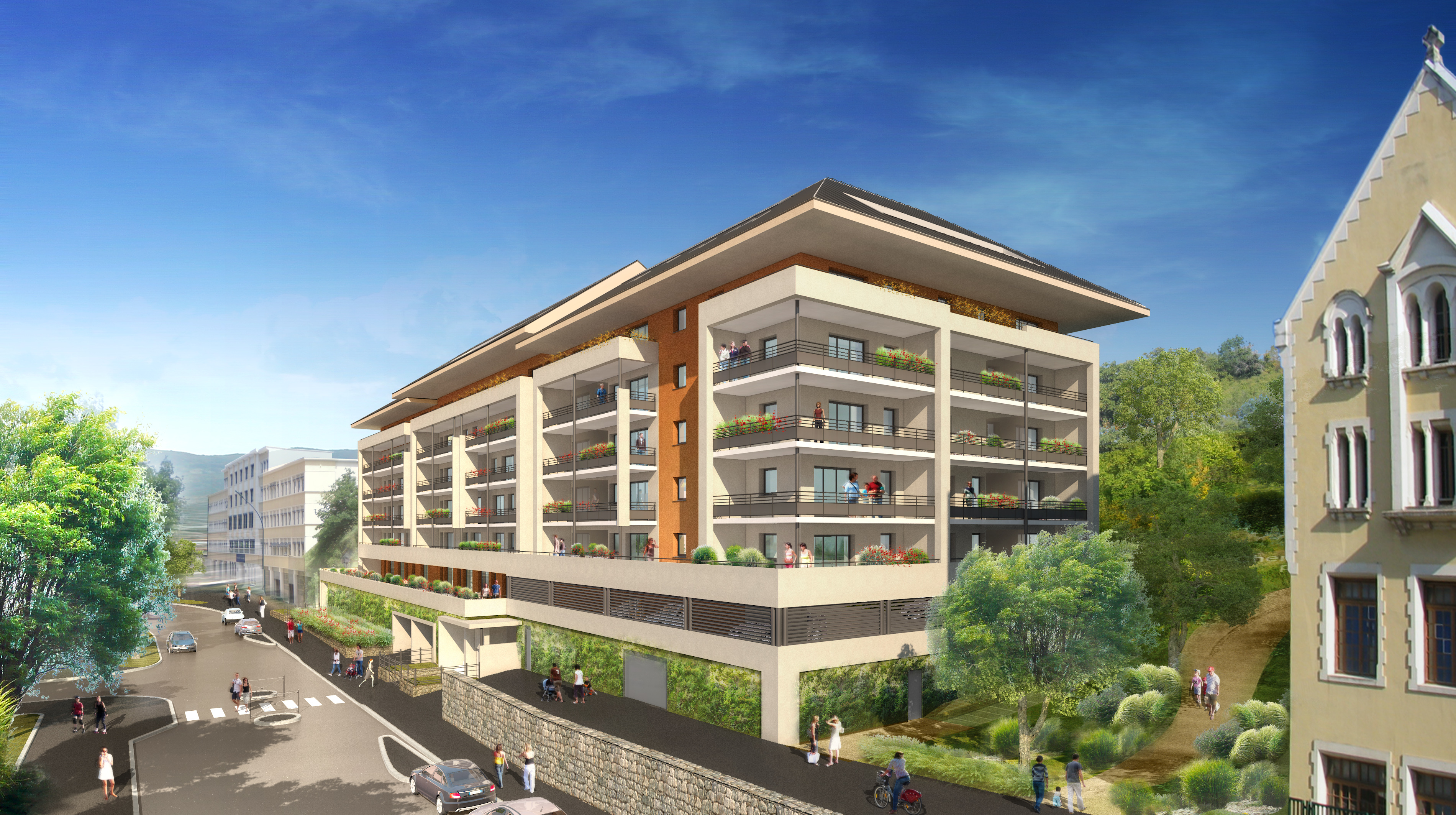 Immobilier annecy neuf for Projet appartement