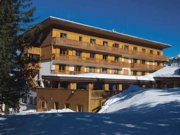 HOTEL DES NEIGES   Construction Dalle Pleine