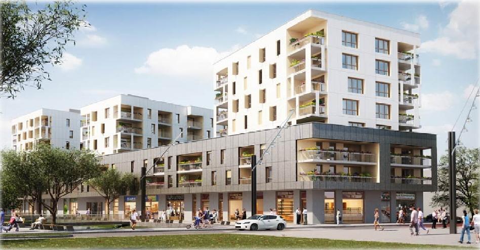 LE SYMPHONIE   Construction de Dalle Pleine  Logement – Bâtiment commercial
