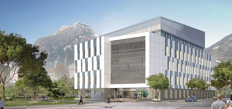 BHT2 MINATEC   Construction Prédalles & Dalles Alvéolaires   Bureaux