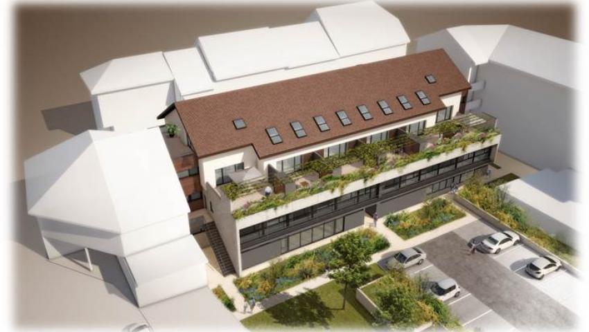 Maison de la Santé   Construction Dalle Pleine   Logements