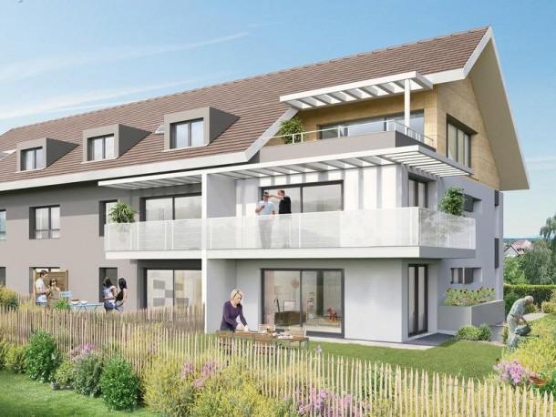 COTTAGE D'ARBERE   DIVONNE LES BAINS   Construction Dalle Pleine   Logements
