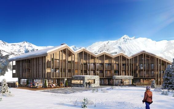 ALP HOTEL   SAINT MARTIN DE BELLEVILLE   Construction Prédalle & Coffrage Plancher   Hôtel