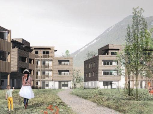 SAINT VINCENT – CHALLES-LES-EAUX   Construction Dalle Pleine & Prédalle   Logements
